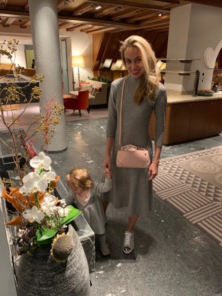 Weihnachten und Silvester verbringt Liliana Klein mit ihrer Familie zu Hause (Foto privat)