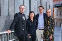 Andreas Stollnberger, Anna Veith, Michael Brugger und Kathrin Schuster (Copyright RG-Verlag Fellner)
