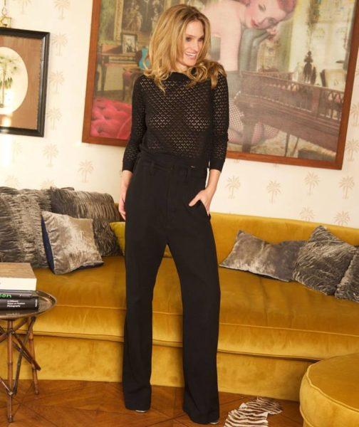 Birte Carolin Sebastian ist Model, Autorin und Schauspielerin und studierte Literaturwissenschaft sowie Philosophie an der Sorbonne in Paris. (Foto Jorinde Gersina)