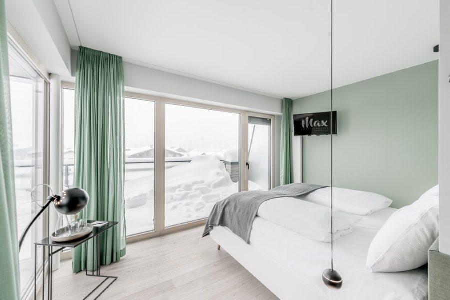 """Architekt Alexander Meissl: """"Das Max verkörpert gelassen, unkompliziert und fesch das smarte Urlauben in Tirol. Der Komfort ist wie zu Hause, aber besser."""" (Foto Foto dasmax)"""