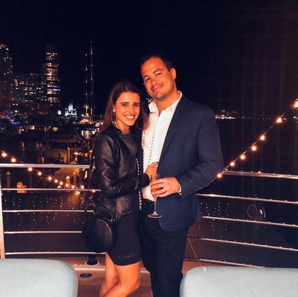Eva Maria Guggenberger lebt jetzt in den USA, wo sie sich gerade mit ihrem Freund Alex P. eine Wohnung in New York sucht (Foto privat)
