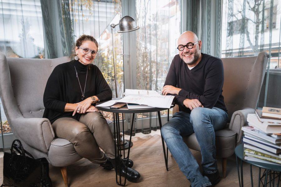 MEISSL ARCHITECTS - Alexander Meissl und Carola Meissl-Handle haben in zweiter Generation das Architekturbüro im Jahr 1990 in Seefeld übernommen (Foto dasmax)