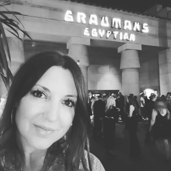 Nicole Muj at Egyptian Theatre in Hollywood (Photo private)