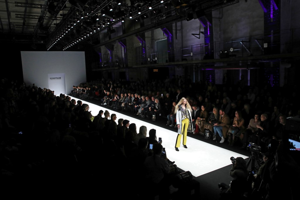 SPORTALM Kitzbühel Show während der Berlin Fashion Week. (Photo by John Phillips/Getty Images for Sportalm)
