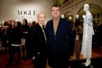 Christiane Arp und André Pollmann beim VOGUE Salon Januar 2019 in der Villa Elisabeth, Berlin. (Foto Sascha Radke für VOGUE Germany)