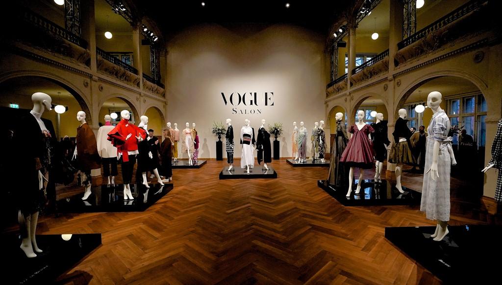 Chefredakteurin Christiane Arp lud im Rahmen der Berliner Fashion Week junge Talente aus Mode und Design wieder zum VOGUE SALON ein. (Foto Sascha Radke für VOGUE Germany)