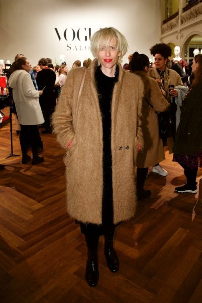 Katja Eichinger beim VOGUE Salon im Januar 2019 in der Villa Elisabeth, Berlin (Foto Sascha Radke für VOGUE Germany)