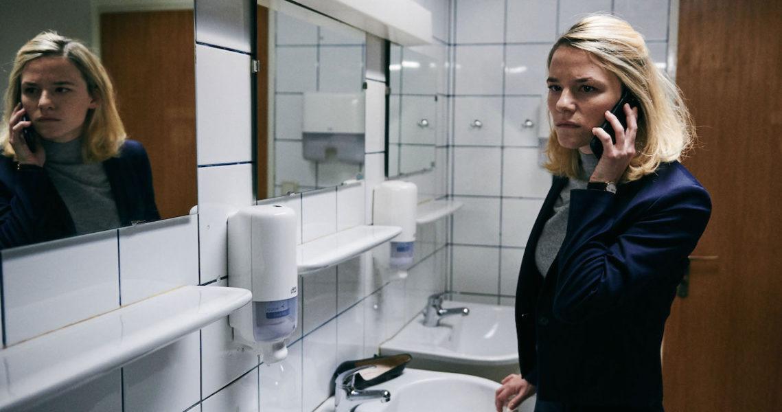 Schauspielerin Valerie Pachner im Eröffnungsfilm der Diagonale'19: Der Boden unter den Füßen (Foto Juhani Zebra)