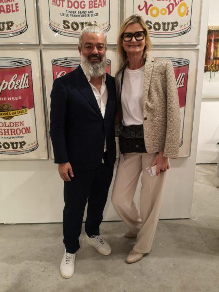 Ich traf den erfolgreichen Galeristen und Kunstsammler Rudolf Budja auf der Art Miami im Dezember (Foto Reinhard Sudy)