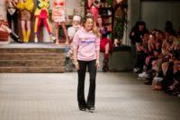Designerin Marina Hoermanseder begeisterte wieder einmal auf der Fashion Week Berlin (Foto Stefan Kraul)
