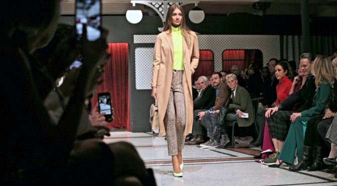 "MBFW Berlin: Marc Cain – ""Meet you at the train station"""