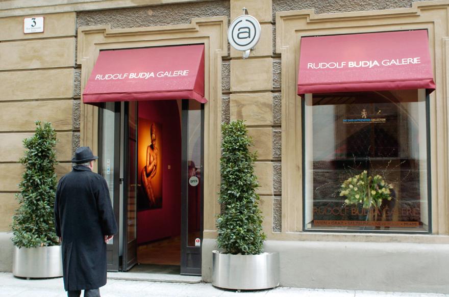 Die Ausstellungen von Rudolf Budja in seiner Salzburger Galerie während der Festspielzeit sind legendär (Foto RBG)