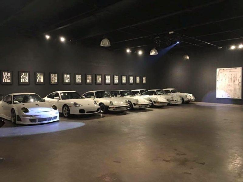 Eine weitere Leidenschaft des international bekannten Galeristen und Kunstsammlers Rudolf Budja sind alte Porsche (Foto RBG)