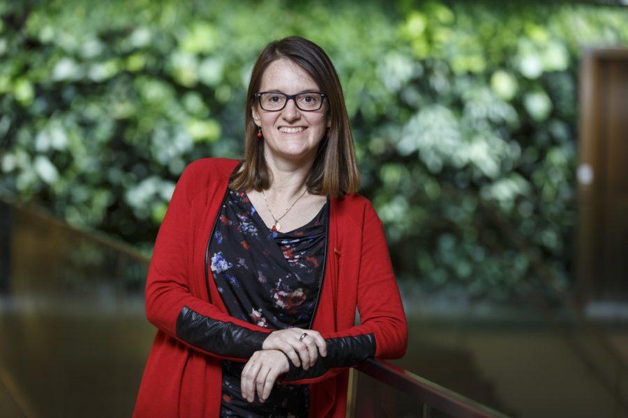 Dipl.-Ing. Sabine Seiler ist Technologin bei Saubermacher in Feldkirchen bei Graz. (Foto Thomas Luef)