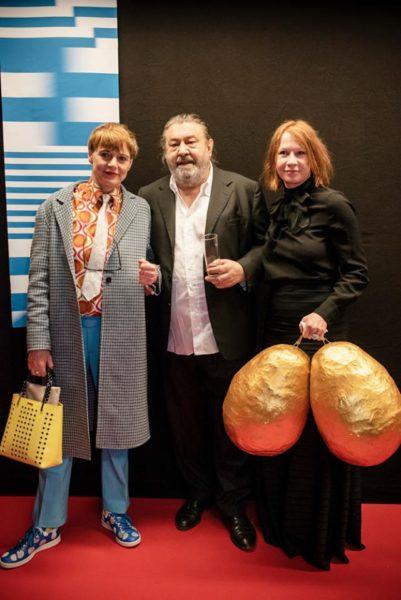 Eröffnung Diagonale 2019: Ashley Hans Scheirl, Hanno Pöschl und Birgit Minichmayr (Foto Diagonale/Miriam Raneburger)