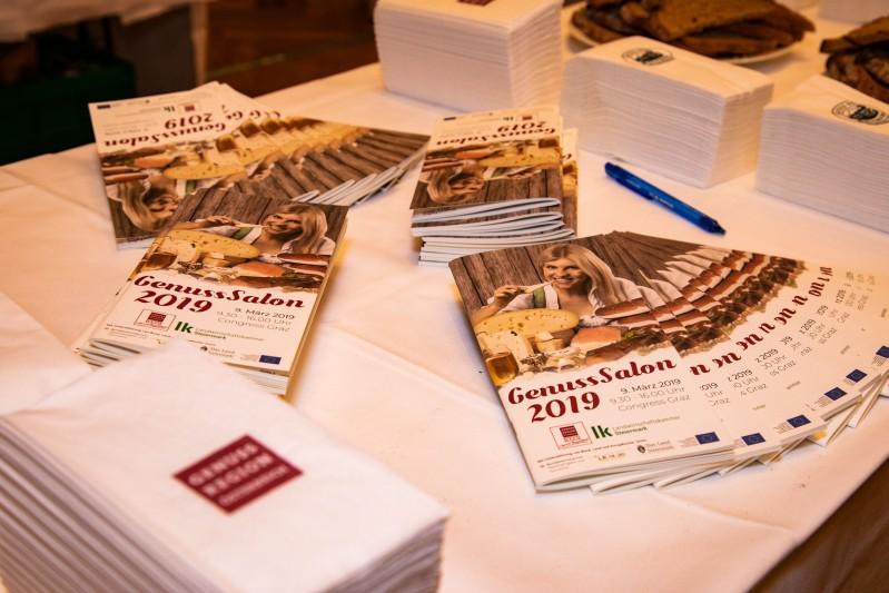 GenussHauptstadt Graz: Insgesamt präsentierten 95 Betriebe aus der Steiermark ihre Produkte in 21 Kategorien. Nur die besten regionalen Produkte schafften es ins große Finale zum GenussSalon. (Foto Fischer)