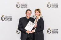 """""""German Design Award 2019"""" für AnneMarie und Hans Schullin (Foto Lutz Sternstein)"""