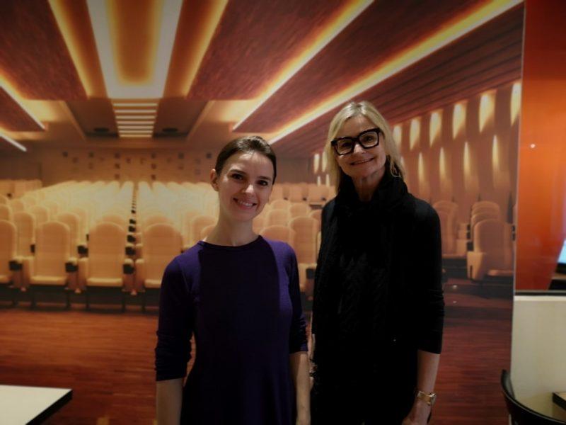 Ich konnte die erfolgreiche Dirigentin Oksana Lyniv in Berlin treffen, wo sie für die 'Tosca' probte. (Foto Reinhard A. Sudy)