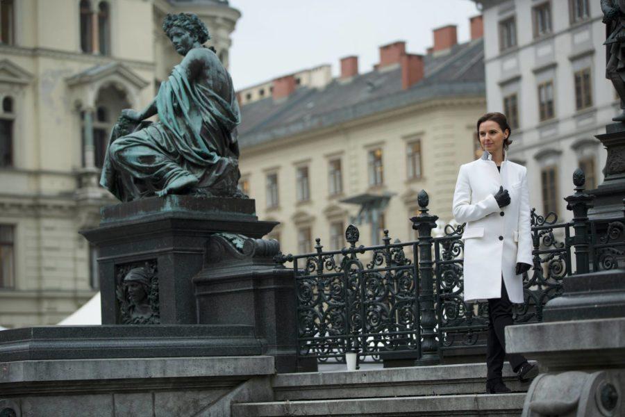 Die erfolgreiche Dirigentin Oksana Lyniv lebt nach dem Motto: Ich lebe jetzt. (Foto Serhiy Horobets)