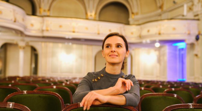 Der kometenhafte Aufstieg von Oksana Lyniv