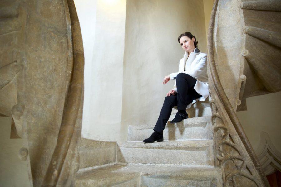 """Oksana Lyniv: """"Die Liebe zur Musik hat mich immer weiter geführt, war meine größte Unterstützung."""" (Foto Serhiy Horobets)"""