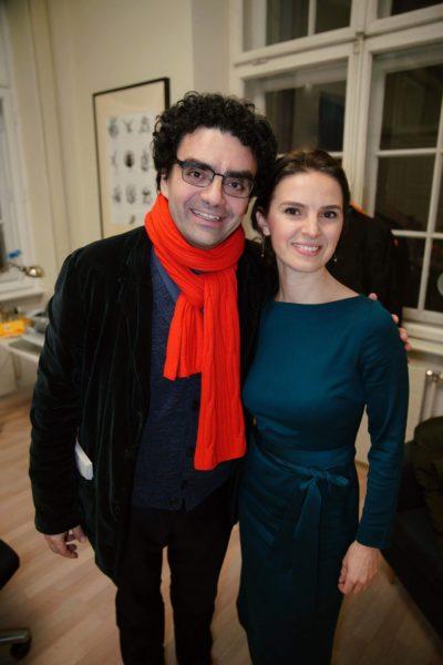 Dirigentin Oksana Lyniv mit Tenor Rolando Villazón, Stiftung Mozarteum Salzburg (Foto Viktor Andriichenko)