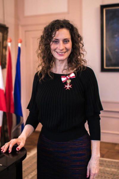 Die bekannte Musical Darstellerin und Königin der Herzen Pia Douwes, alias ELISABETH, erhielt das goldene Ehrenzeichen um die Verdienste der Republik Österreich. (Foto Klok Media)
