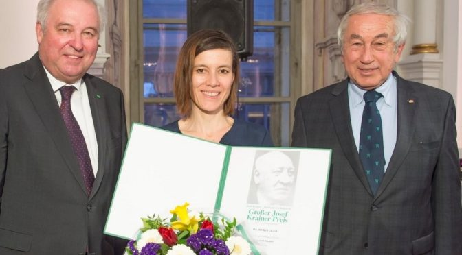 Großer Krainer-Preis für Schauspielerin Pia Hierzegger