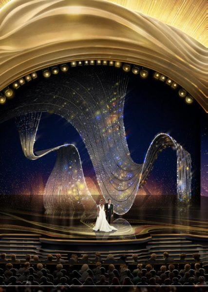 Das erfolgreiche österreichische UnternehmenSWAROVSKI brachte kürzlich die Bühne der 91. Oscars® im Dolby Theatre® des Hollywood & Highland Center® in Hollywood mit einem revolutionärem Set-Design aus Kristall zum Strahlen. (Foto Swarovski)