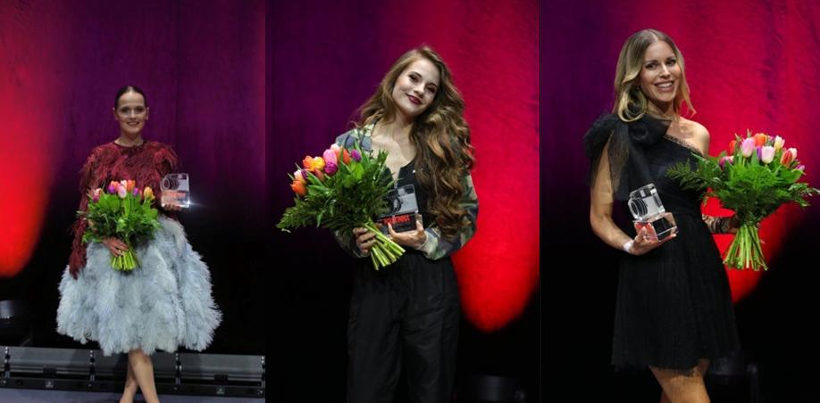 """Erfolgreiche Steirerinnen: Der Design-Award ging an Eva Poleschinski, """"Influencerin of The Year"""" wurde Lisa-Marie Schiffner und den Beauty-Preis erhielt Kerstin Zacharias (Fotos Moni Fellner)"""