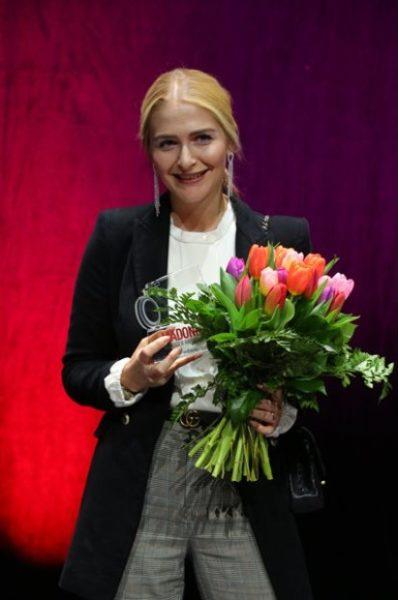 In der Kategorie Fashion konnte sich Julia Gaigg alias Julietta Mademoiselle über einen Award freuen (Foto Moni Fellner)