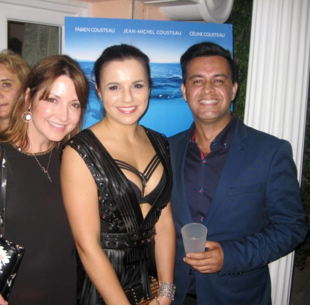 Nicole Muj, Maria Darkina and Gotham Chandna at Cannes Film Festival Event (Photo private)