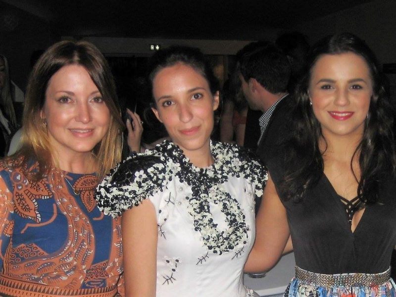 Nicole Muj, Rebeca Nuez and Maria Darkina at Wanderluxxe Spike Lee Party at Cannes 2017 (Photo private)