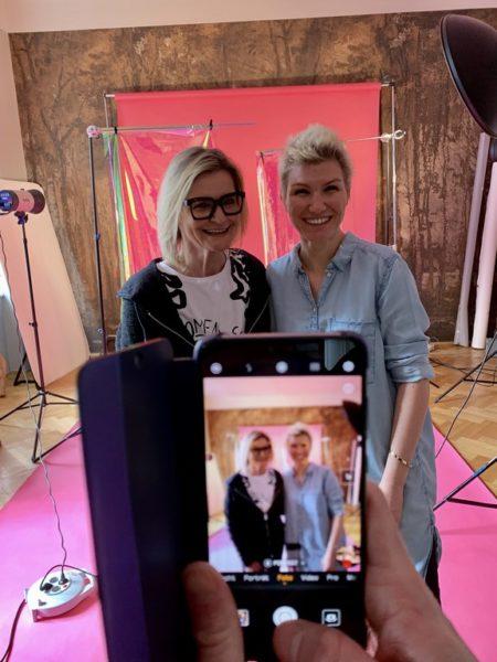 'Behind the Scenes' beim Shooting für die 2. Ausgabe des Aiola Living Magazins mit der großartigen Fotografin Tina Herzl. (Foto AIOLA)