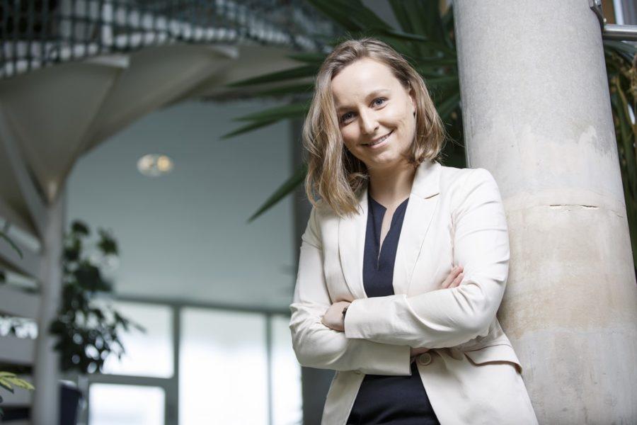 Dipl.-Ing. Tanja Gosch ist siestolz darauf, ein individualisierbares Produktmit Fokus auf Industrie und Bahnbetrieb anzubieten, das einen nachhaltigen Beitrag zur Ressourcenschonung beiträgt. (Foto Thomas Luef)