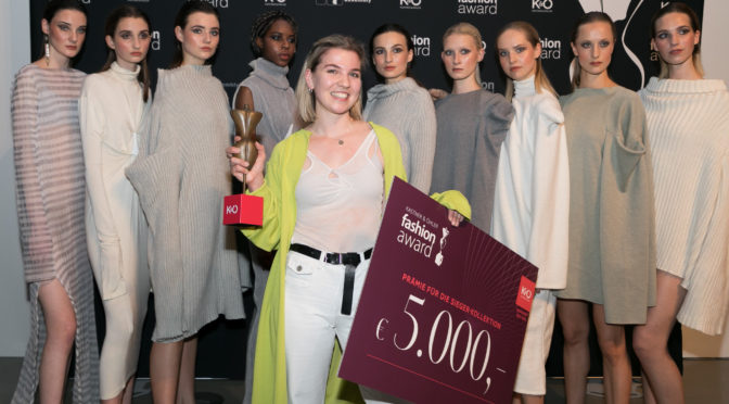 Kastner & Öhler Jubiläums-Fashion Award für Christina Seewald