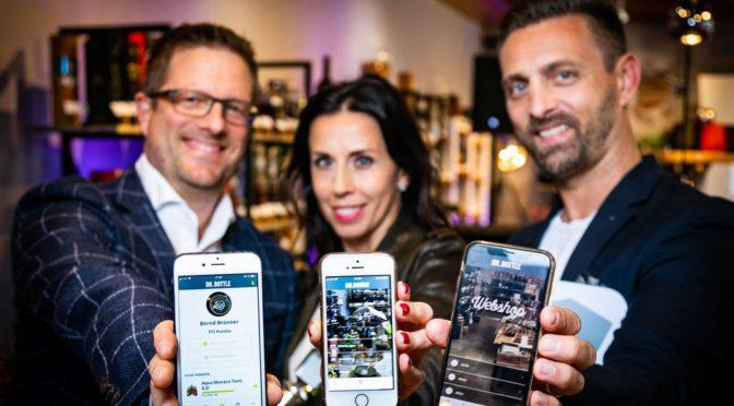 """""""Me & Dr. BOTTLE"""" – 1. Genusspartner-App Österreichs"""