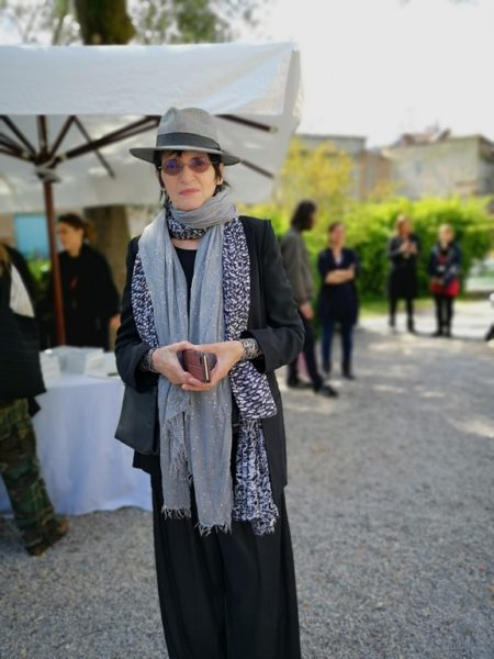 Auf der 58th International Art Exhibition in Venedig zeigt der Österreichische Pavillon Werke der Künstlerin Renate Bertlmann. (Foto Hedi Grager)