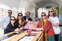 Andy Wolf Eyewear präsentierte kürzlich eine Kollektion mit dem Berliner Designerduo Rianna+Nina im Grazer BrillenQuartier (Foto Philipp Podesser)