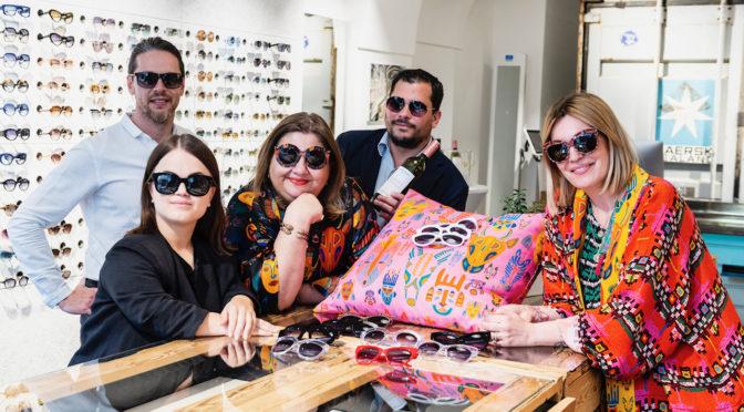 Andy Wolf Eyewear präsentierte Kollektion mit Berliner Designerduo Rianna+Nina