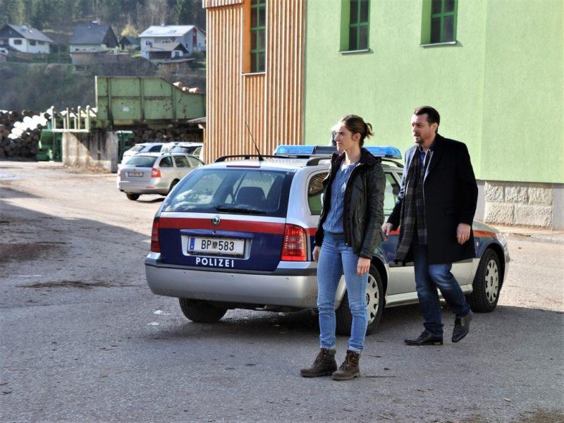 Miriam Stein und Hary Prinz ermitteln im Mürztal. (Foto Reinhard A. Sudy)