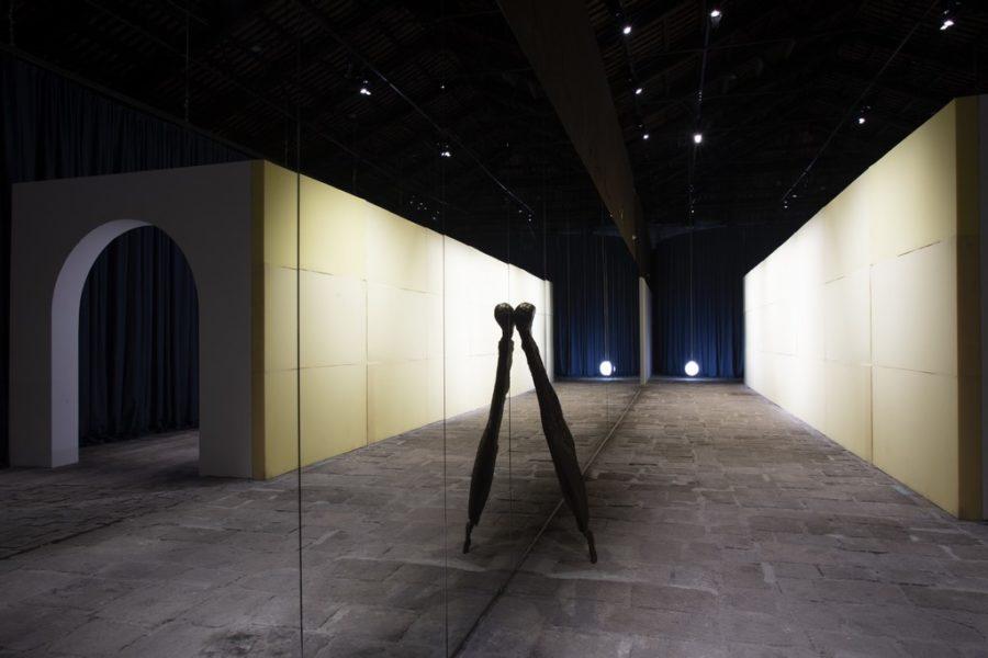 Biennale Arte 2019: Italian Pavilion - Künstler: Enrico David, Chiara Fumai, and Liliana Moro. (Photo Italo Rondinella)