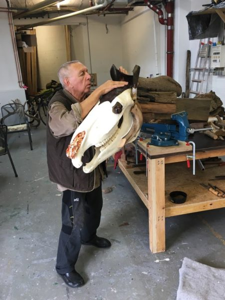 Biennale Arte 2019: Jimmie Durham erhielt den Goldenen Löwen für sein Lebenswerk. (Photo William Nicholson)