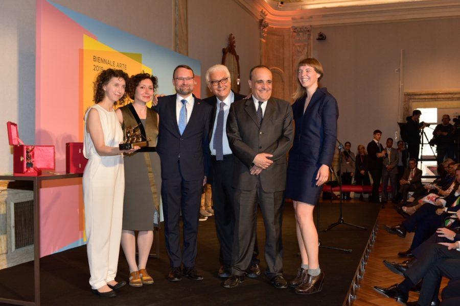 Biennale Arte 2019: Einen Goldenen Löwen für den besten Nationalen Pavillon bekam Litauen. (Photo Biennale Arte 2019)