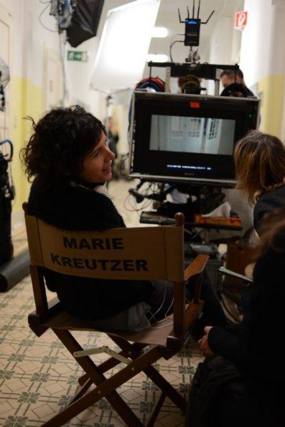 Die erfolgreiche Regisseurin Marie Kreutzer 'bei der Arbeit'. (Foto Novotny Film/Katharina Sartena)