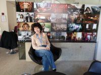 Regisseurin Marie Kreutzer im Interview im Orpheum Graz (Foto Hedi Grager)