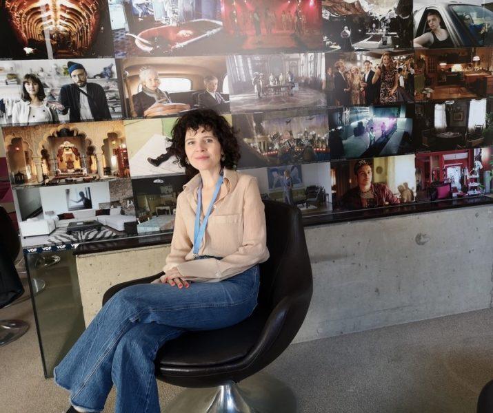 """Marie Kreutzer: """"Ich hatte bei der Auswahl meiner Themen nie eine Karrierestrategie, ich mache immer das, was ich jetzt grad wichtig finde."""" (Foto Hedi Grager)"""