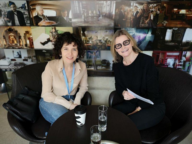 Ich treffe die Regisseurin Marie Kreutzer einen Tag nach der Diagonale Eröffnung im Grazer Schubertkino. (Foto Hedi Grager)