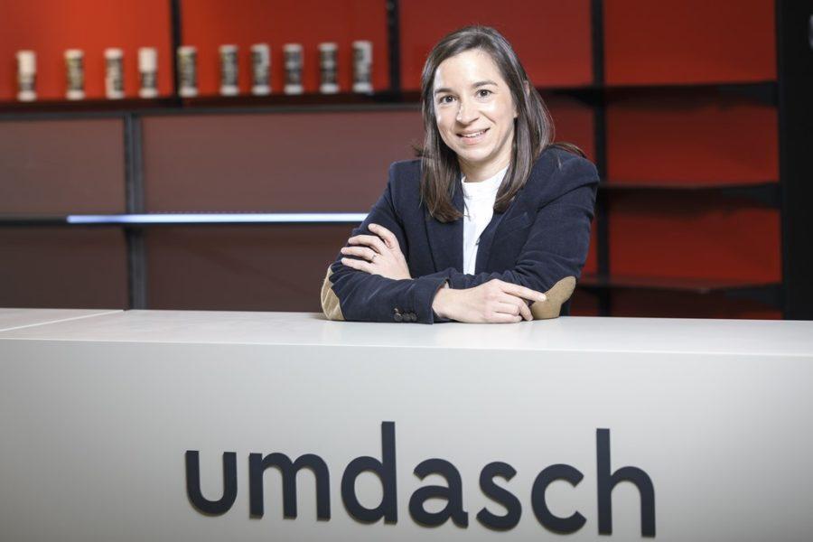 Michaela Schölnberger ist Technische Leiterin bei Umdasch The Store Makers. (Foto Thomas Luef)