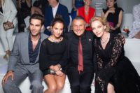 Bulgari High Jewelry Cinemagia Event auf Capri: CapriJon Kortajarena, Alicia Vikander, Jean-Christophe Babin und Uma Thurman. (Foto David Atlan)
